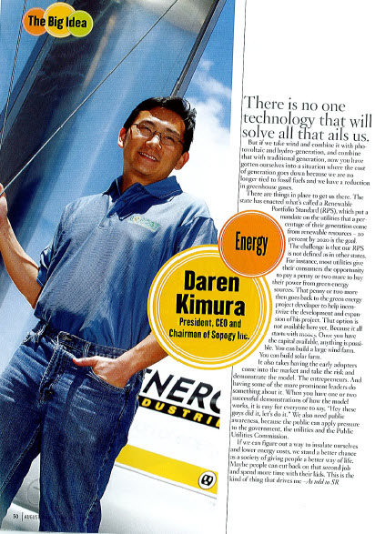 Darren in Hawaii Business Magazine