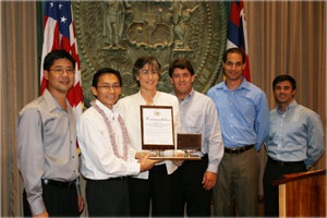 Sopogy is awarded Innovation Award