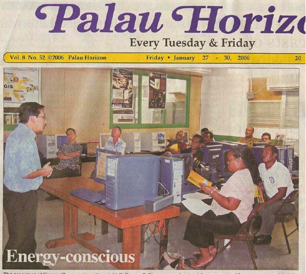 Energy Star in Palau