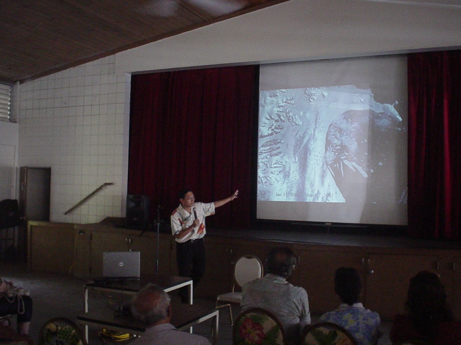 Global Warming Seminar at Waikiki Community Center