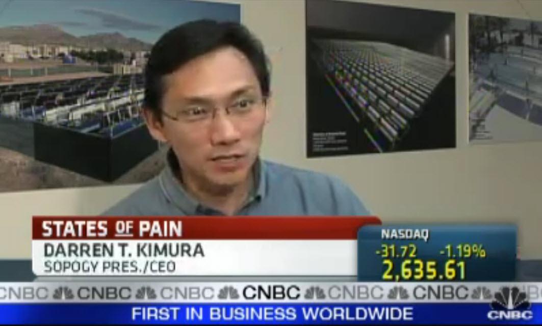 Darren T. Kimura on CNBC