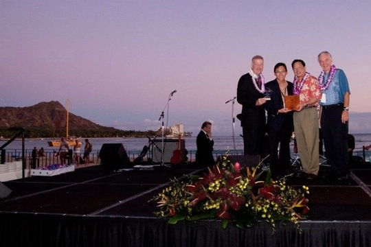 APEC 2011 Hawaii Business Innovation Showcase winners awarded KHON 2 Reported by Marisa Yamane